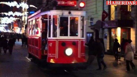 Taksim tramvay seferleri 6 ay yok