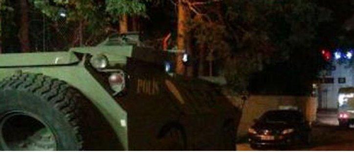 Tatvan'da emniyet müdürlüğüne taciz ateşi