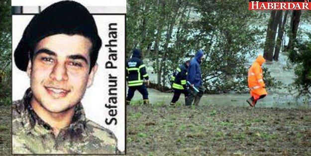 Tekirdağ'da sele kapılan askerin cansız bedenine ulaşıldı