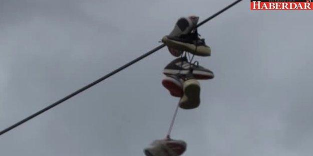 Tellerdeki Esrarengiz Ayakkabılar