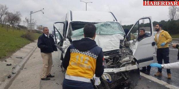TEM Hadımköy Gişeler'de kaza: 1 kişi öldü
