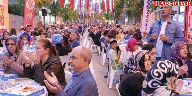 Tepecik mahalle iftarına yoğun ilgi