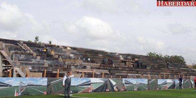 Tepecik Şenol Güneş Stadyumu gün sayıyor!