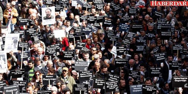 TGC'den çarpıcı rapor: Gazetecilik cezaevinde
