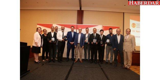 TGC-KAS 19.Yerel Medya Ödülleri sahiplerini buldu