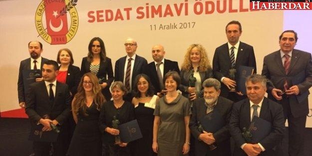 TGC Sedat Simavi Ödülleri sahiplerini buldu