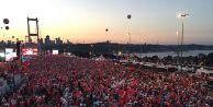 Türkiye 15 Temmuz#039;u anıyor....
