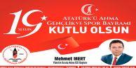 19 Mayıs Atatürk'ü Anma, Gençlik ve Spor Bayramı'nız kutlu olsun