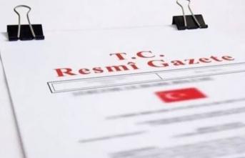 Atama kararları Resmi Gazete' de yayımlandı