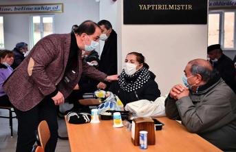 Beylikdüzü Belediye Başkanı Mehmet Murat Çalık Alevi vatandaşlarla bir araya geldi