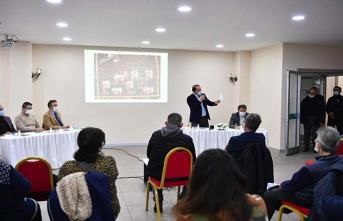 Beylikdüzü: Gürpınar Siteler Kentsel Dönüşüm Projesi 1. Etap toplantısı tamamlandı