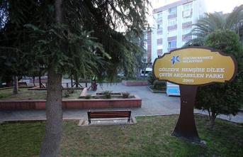 Koronavirüsten hayatını kaybeden Dilek Hemşirenin adı oturduğu Gültepe Mahallesi'ndeki parka verildi