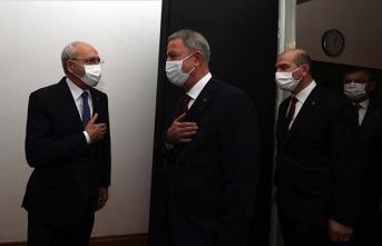 Soylu ve Akar'dan CHP'yle Gora teması