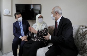 Erdoğan söz verip gitmedi ama... Kılıçdaroğlu ve İmamoğlu'ndan Mahruze Teyze'ye ziyaret