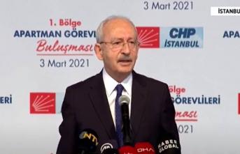 Kılıçdaroğlu'ndan İnsan Hakları Eylem Planı açıklaması