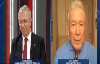 Mansur Yavaş Uğur Dündar'ın Cumhurbaşkanlığı adaylığı sorusunu yanıtladı