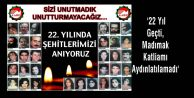 #039;22 Yıl Geçti, Madımak Katliamı Aydınlatılamadı#039;