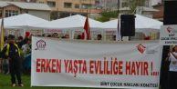 23 Nisan'ın En Anlamlı Pankartı Siirt'ten