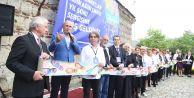 """""""Adım Adım Sanat"""" sergisi Büyükçekmece Kervansaray'da açıldı"""