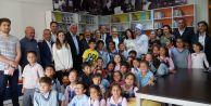 Adnan Kahveci İlkokulunda kütüphane sevinci