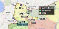 Afrin#039;e kara harekatı - Zeytin Dalı Harekatı#039;nda ikinci gün