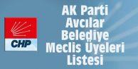 AK Parti Avcılar Belediye Meclis Üyeleri Listesi