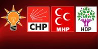AK Parti, CHP, MHP ve HDP#039;nin Seçim Vaatleri