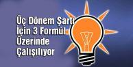 AK Parti#039;den Üç Dönem Şartı İçin 3 Formül Üzerinde Çalışılıyor