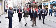 Akgün, Beyoğlu#039;nda kentsel dönüşüm uygulamalarını inceledi