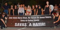 Akgün: 'kadına şiddete hayır!