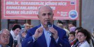 Akgün: Rahmet ve Bereket ayı Ramazan hayırlı olsun