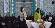 AKP#039;li aday camide miting yaptı