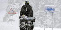 Akseki-Seydişehir yolu kar nedeniyle kapandı
