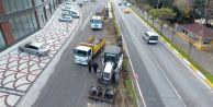 Ali Çebi Caddesi#039;nde trafik sorunu çözülüyor
