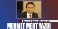 Alkışlanacak basın dostu başkan Edirne#039;den