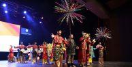 Altınköprü Halk Dansları yarışmasında muhteşem performans