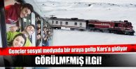 Ankara-Kars arası Doğu Ekspresi seferlerine şaşırtan ilgi!