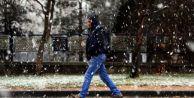 Ankaralılar güne karla başladı