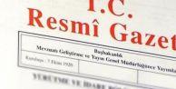 Atama kararları Resmi Gazete#039;de yayımlandı
