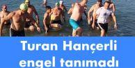 Avcılar Belediye Başkanı Turan Hançerli engel tanımadı.