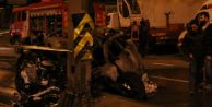 Avcılar#039;da feci kaza: 2 ölü