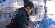 Avcılar#039;da Hurdalıkta Yüzlerce Şişe Sahte İçki Ele Geçirildi