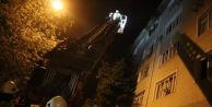 Avcılar#039;da öğrenci evinde yangın paniği