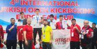 Avrupa Kick Boks Şampiyonları Büyükçekmeceden çıktı