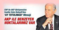 Bahçeli: AKP İle Benzeyen Noktalarımız Var