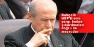 Bahçeli: HDP#039;lilerin Tutuklanması Doğru ve Meşrudur