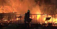 Bakırköy#039;de Balık Restoranı Yandı