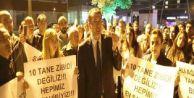 Başakşehir#039;de Ali Ağaoğlu protestosu