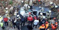 Başakşehir#039;de istinat duvarı çöktü: 1 ölü