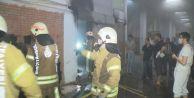 Başakşehir#039;de sanayi sitesinde yangın